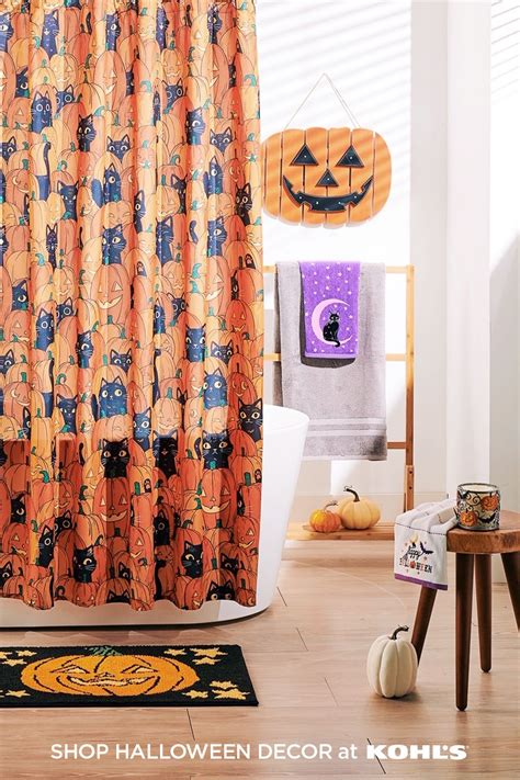 Deck out your walls with a variety of wall decor. Find Halloween-themed bathroom decor at Kohl's. | Halloween home decor, Halloween entertaining ...