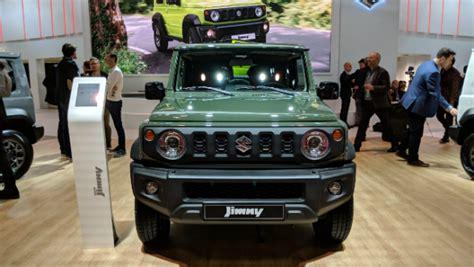 Suzuki Jimny Suv Shown At 2018 Paris Motor