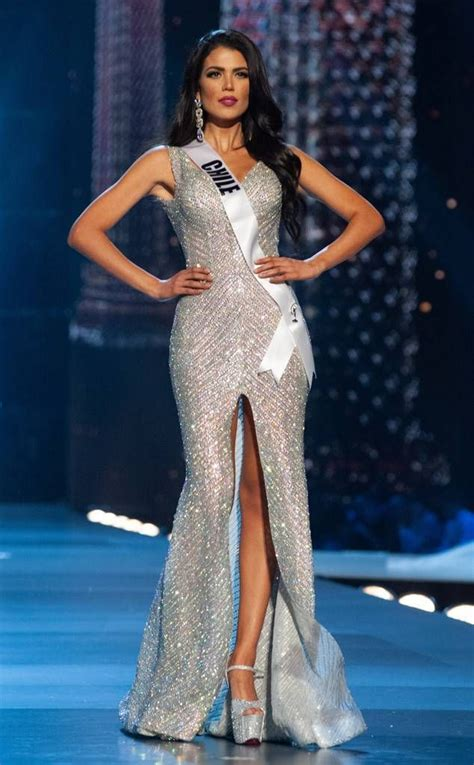 Miss Chile from Miss Universe 2018 Evening Gown