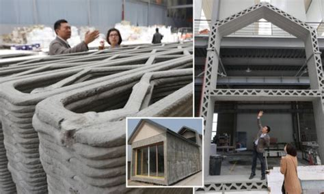 printer creates  houses   day daily mail