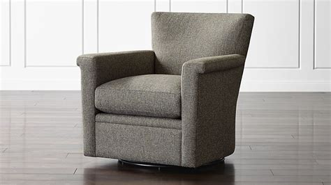 crate and barrel swivel chair declan 360 swivel chair tobias gravel crate and barrel 8488