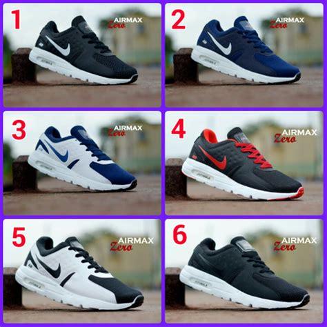 Sepatu Santai Nike jual sepatu sport pria nike airmax zero sepatu santai