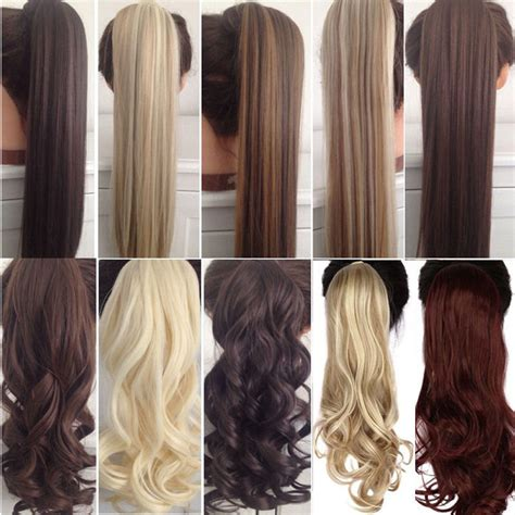 creative   color hair extensions fine