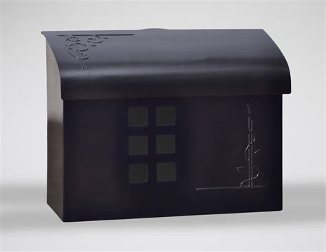 wall mount mailbox ecco mailboxes black pewter wall mount mailbox 4612