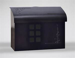 Ecco Mailboxes | Black Pewter Wall Mount Mailbox ...
