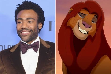 donald glover simba donald glover and james earl jones have been cast in the