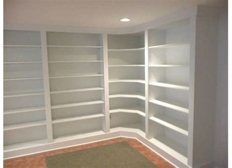 build built in bookcase furniture in wall book shelves which furnished with
