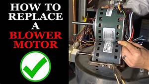 Furnace  Ac Blower Motor Replacement