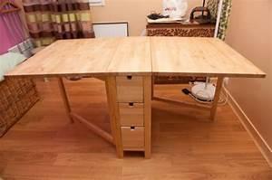 Table à Rabat Ikea : table rabat muli fonction norden petites annonces ikea by ikeaddict ~ Teatrodelosmanantiales.com Idées de Décoration