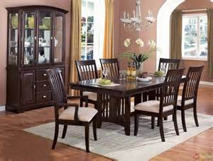 casual dining room sets monaco cappuccino finish casual dining room set