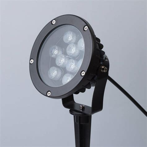 heavy duty outdoor led lights remote controlled heavy duty led 9w outdoor garden light