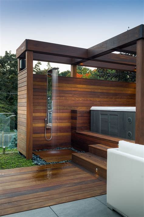toronto outdoor shower fixtures patio contemporary with