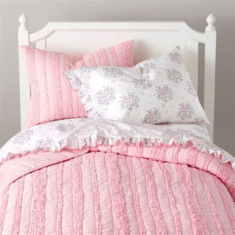 girls bedding sheets duvets pillows  land  nod