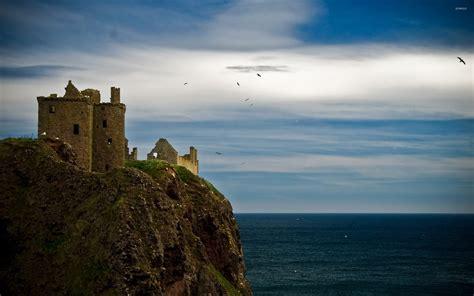 dunnottar castle hd wallpapers
