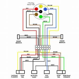 External Lighting Wiring Diagram As Used On Most Trailers