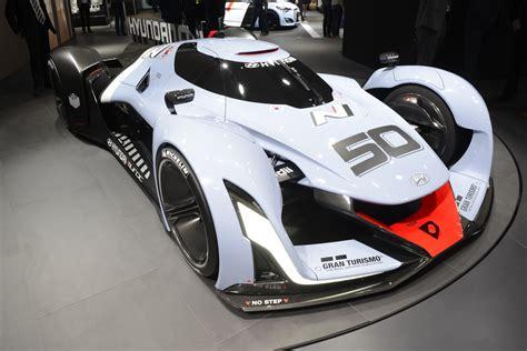 hyundai supercar concept hyundai n 2025 vision gran turismo looks even crazier in