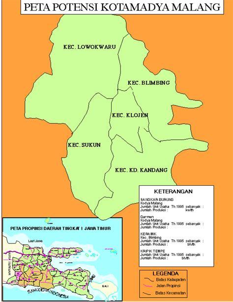potential map  malang