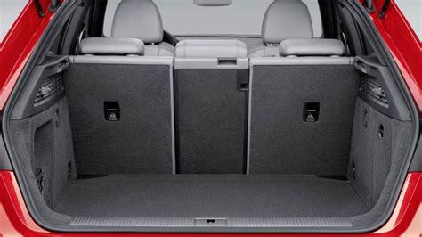 dimensions audi  sportback  coffre  interieur