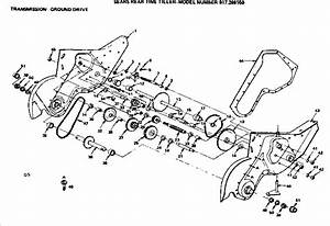 Mtd Tiller Parts Diagram