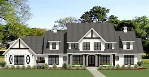 Modern-farmhouse, House, Plan