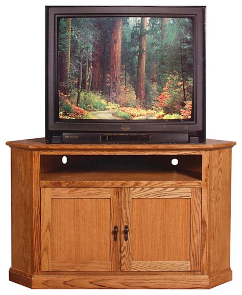 craftsman media cabinet mission large corner tv stand alder craftsman