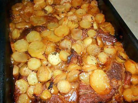 cuisiner le tendron de veau recette de tendron de veau aux pommes boulangéres