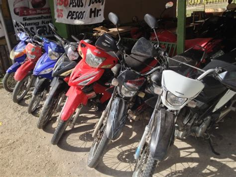 Motorcycle Rental In The Philippines