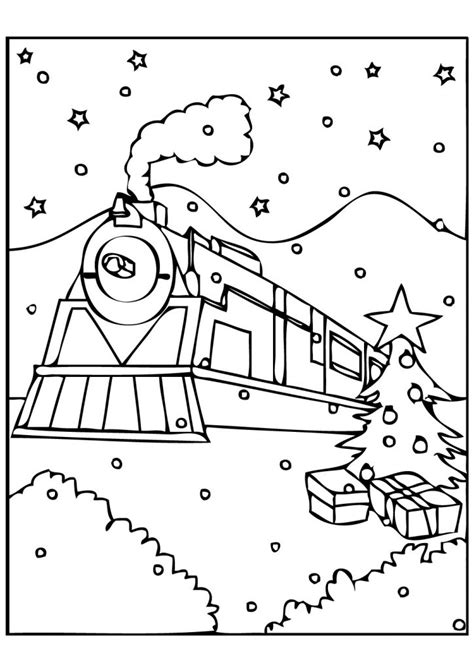 express template polar express bell page coloring pages