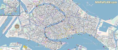 venice italy street map