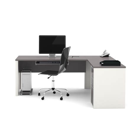 Bestar Connexion L Shaped Desk by Bestar Connexion L Shaped Desk In Sandstone 93880 59