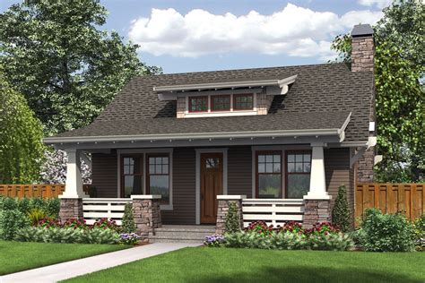 Bungalow Style House Plan-beds . Baths Sq/ft