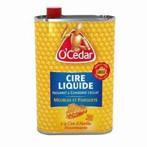 Cire liquide parquet enrichie a la cire d39abeille 750 ml for Cire d abeille pour parquet