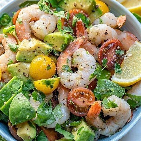 Salāti ar garnelēm un avokādo - INSTA receptes - tavs ...