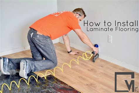 how to lay laminate flooring in a kitchen how to install laminate flooring an easy and simple guide 9783