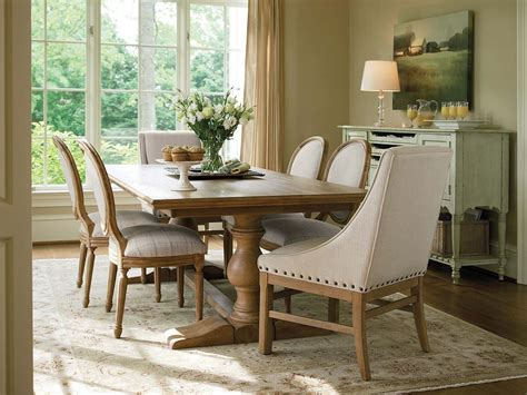 ways  bring rustic warmth   modern dining room