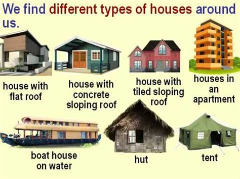 types  houses  pictures mycoffeepotorg