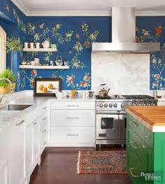 wallpaper in kitchen ideas beautiful unconventional kitchen designs