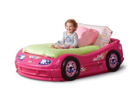 pink kid car 12 cute beds for girls ages 2 to 5 years old