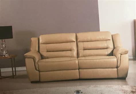 tan leather reclining sofa lago italian tan leather power reclining sofa usa