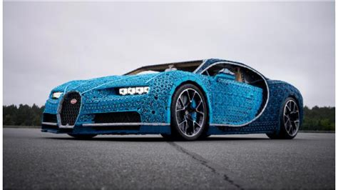 What Company Made Bugatti by See This Size Bugatti Chiron Made Of Lego