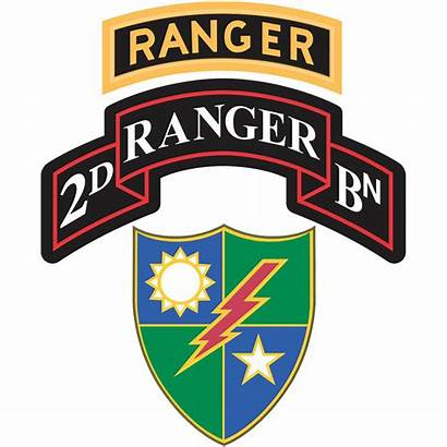 Ranger 75th Regiment Battalion 2nd 1st Tab