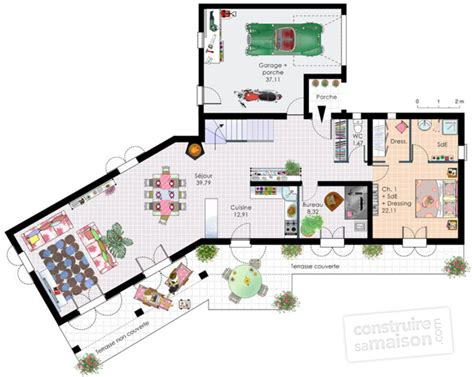 plan chambre 12m2 bastide dé du plan de bastide faire construire sa