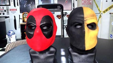 deadpool deathstroke masks  youtube