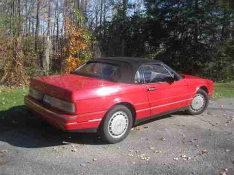 automobile air conditioning repair 1992 cadillac allante head up display buy used 1992 cadillac allante convertable in grand rapids michigan united states for us