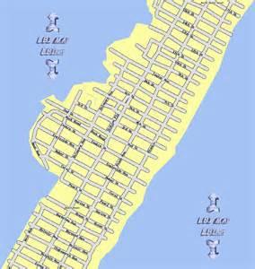 Long Beach Island New Jersey Map