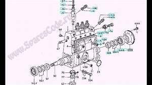 101043-8490  9410610008  Fuel Injection Pump Zexel   16703l1800
