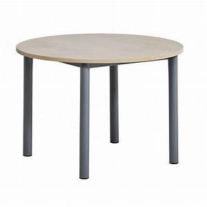 Table De Cuisine Ronde : table de cuisine ronde stratifi e lustra ~ Teatrodelosmanantiales.com Idées de Décoration