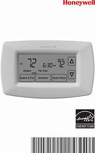 Honeywell Thermostat Rth7600 User Guide