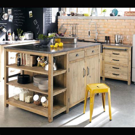 cuisine copenhague maison du monde meubles de cuisine indépendant et ilot maison du monde