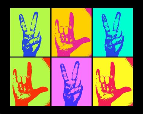 Image result for pics hand signs peace and love